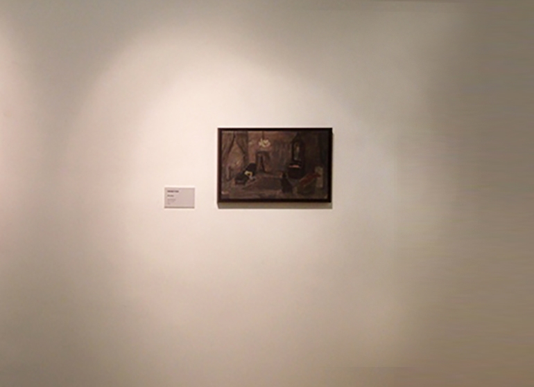 Installation view, The White skin pet National Gallery of Art, Tirana