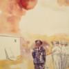 Untitled, 2020, tempera on paper, 25 x 15 cm thumbnail