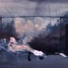 THE SHOWER, 2017, oil on canvas, 39 x 30 cm thumbnail