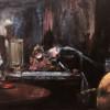 EXAMINATION ROOM, 75 X 62 cm, oil on canvas, 2019 thumbnail