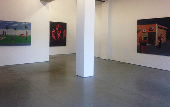 Installation View, Irrgang gallery, Berlin, 2016