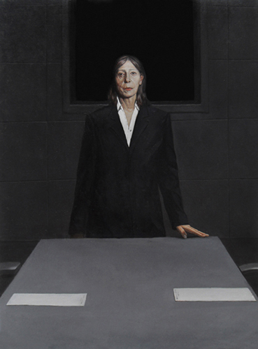 THE VERDICT, 90 x 70 cm, oil on canvas, 2011