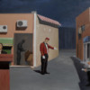 ORDINARY MEAL, 2008, oil on canvas, 230 x 160 cm thumbnail