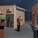 ORDINARY MEAL, 2008, oil on canvas, 230 x 160 cm thumbnail