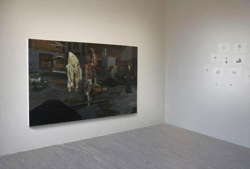 Installation view, Villa Romana Price, Florence, 2012