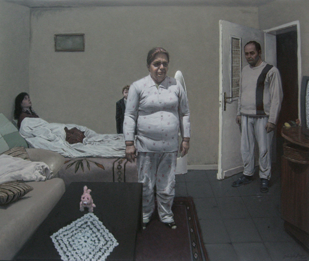 STILL FOG, 2010, oil on canvas, 120 x 100 cm
