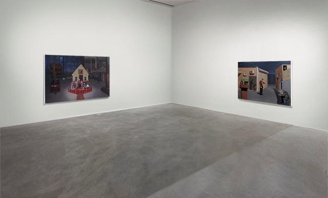 Installation view, Budelsdorf, Germany, 2013