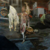 OPTION OUT OF THE TABLE, 250 x 140 oil on canvas 2012 thumbnail