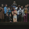 VISIT IN THE WOUND, 2013, oil in canvas, 250 x 190 cm thumbnail