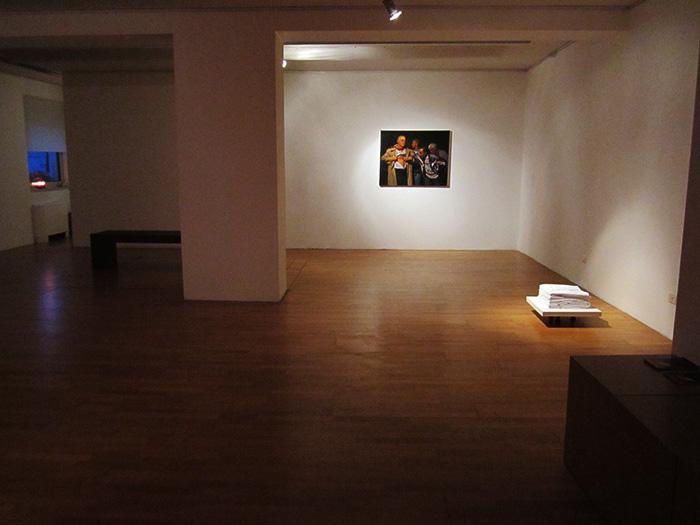 Installation view, Zeta Gallery, Tirana 2014