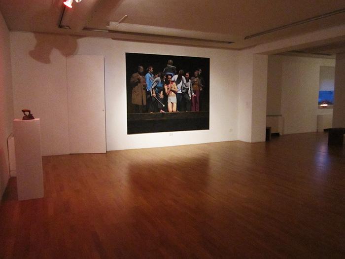 Installation view, Zeta Gallery, Tirana, 2014