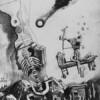 KIBERSAPIENS, 2020, pencil on paper, 21 x 15 cm thumbnail