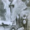 CEREBRAL RUINS, 21 X 15 cm, pencil on paper, 2020 thumbnail