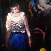 THE LITTLE BOTTLE, 2020,  oil on canvas, 60 x 40 cm thumbnail