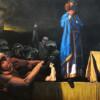 LACK OF VISION, 2019, oil on canvas 160  x 130 cm thumbnail