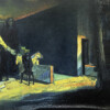 THE DESIRE OF HUMAN DOG, 2020, oil on canvas, 50 x 25 cm thumbnail