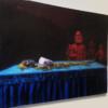 Installation view, Paradigm replica, oil on canvas, 190 x 110 cm, 2020 thumbnail