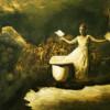 TEETH AND MILK, 2020, oil on canvas,  70 x 52 cm thumbnail