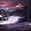 SARA'S PARTITURE, 2020, oil on canvas, 40 x 32 cm thumbnail